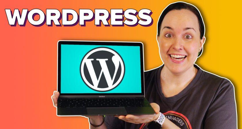 Cómo crear tu propia web o blog con WordPress