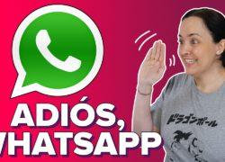 Cómo cerrar tu cuenta de WhatsApp para siempre