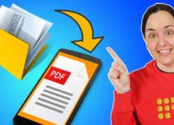 Cómo escanear documentos con tu móvil