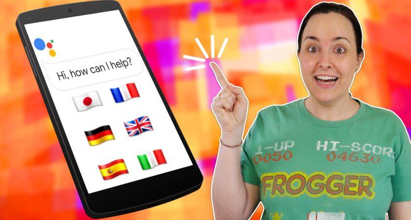 Aprende inglés online… ¡con el Asistente de Google!
