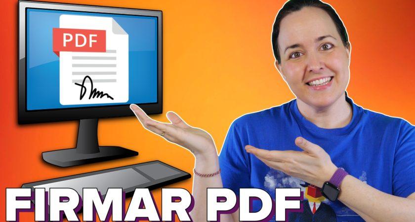 Cómo rellenar y firmar un documento PDF en tu PC