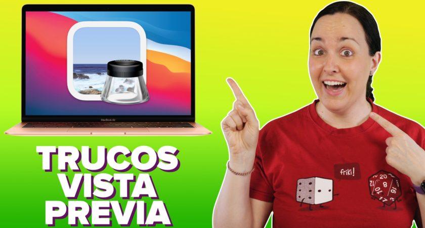 Trucos y funciones ocultas de Vista Previa en Mac