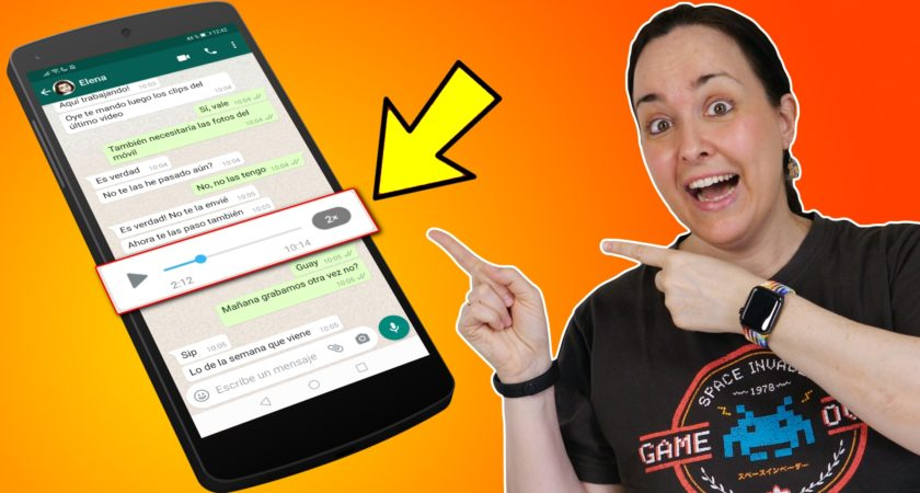 Cómo acelerar las notas de voz en WhatsApp