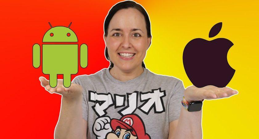 Cómo pasar fotos, vídeos y más entre iPhone y Android