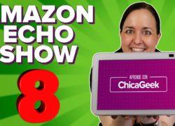 Nuevo Amazon Echo Show 8 de 2012, con cámara mejorada y función de seguimiento