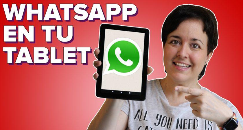 Cómo utilizar WhatsApp en una tablet Android