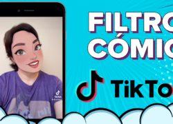 Así puedes usar el filtro Comic Disney Pixar de TikTok en cualquier app